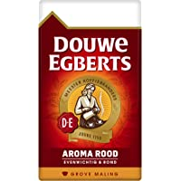 Douwe Egberts Filterkoffie Aroma Rood Grove Maling (1.5 Kilogram, Intensiteit 05/09, Medium Roast Koffie), 6 x 250 Gram