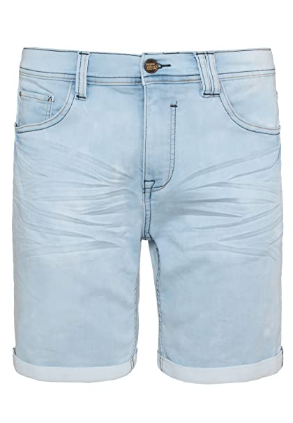Urban Surface Herren Sweat Jeans-Shorts   Kurze Hose aus bequemen Sweat in  Jeansoptik  Amazon.de  Bekleidung b70522d9b9