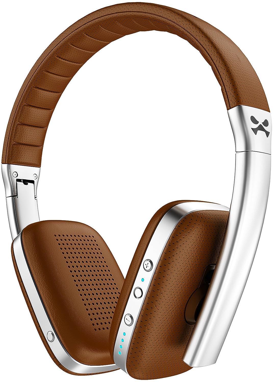 Ghostek Rapture Premium Wireless Headphones Stereo Foldable Comfortable , Brown