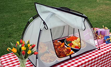 Amazon.com PicnicPal PP-100 Food Protecting Tent Plus a Free Ice-Buddy (Inflatable Ice Tray) Combo Garden u0026 Outdoor & Amazon.com: PicnicPal PP-100 Food Protecting Tent Plus a Free Ice ...