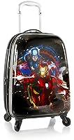 "Marvel Avengers Boy's 20"" Hardside Spinner Carry On Expandable Luggage"