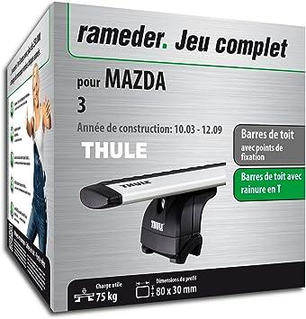 Kit completo Rameder, barras de techo WingBar para Mazda 3 (114574 - 05062 - 7-FR): Amazon.es: Coche y moto