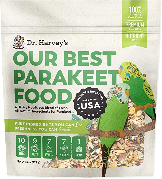 The Best Dr Harvey's Parakeet Food