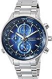 [ワイアード]WIRED 腕時計 WIRED クロノグラフ 青文字盤 10気圧防水 AGAW449 メンズ