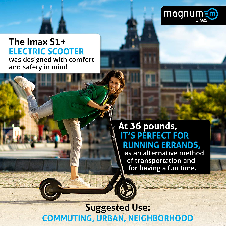 Amazon.com: IMAX S1+Patinete eléctrico de litio ...