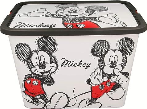 Stor Caja Click 23 L   Mickey Mouse - Disney - Fancy: Amazon.es: Juguetes y juegos