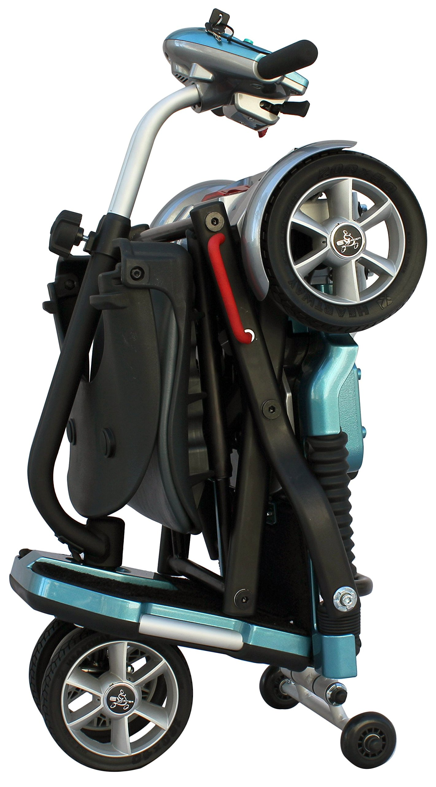 EV Rider Transport Folding Lightweight Travel Mobility Scooter Demo Model