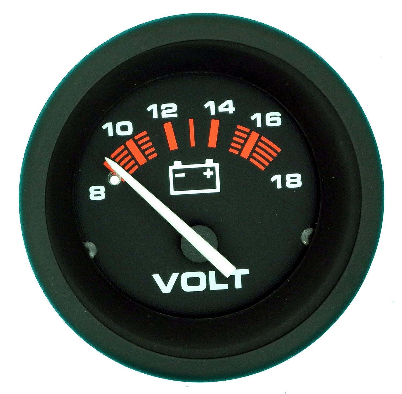 Sierra 57901P Voltmeter - Amega 2', 8-18 VDC Teleflex