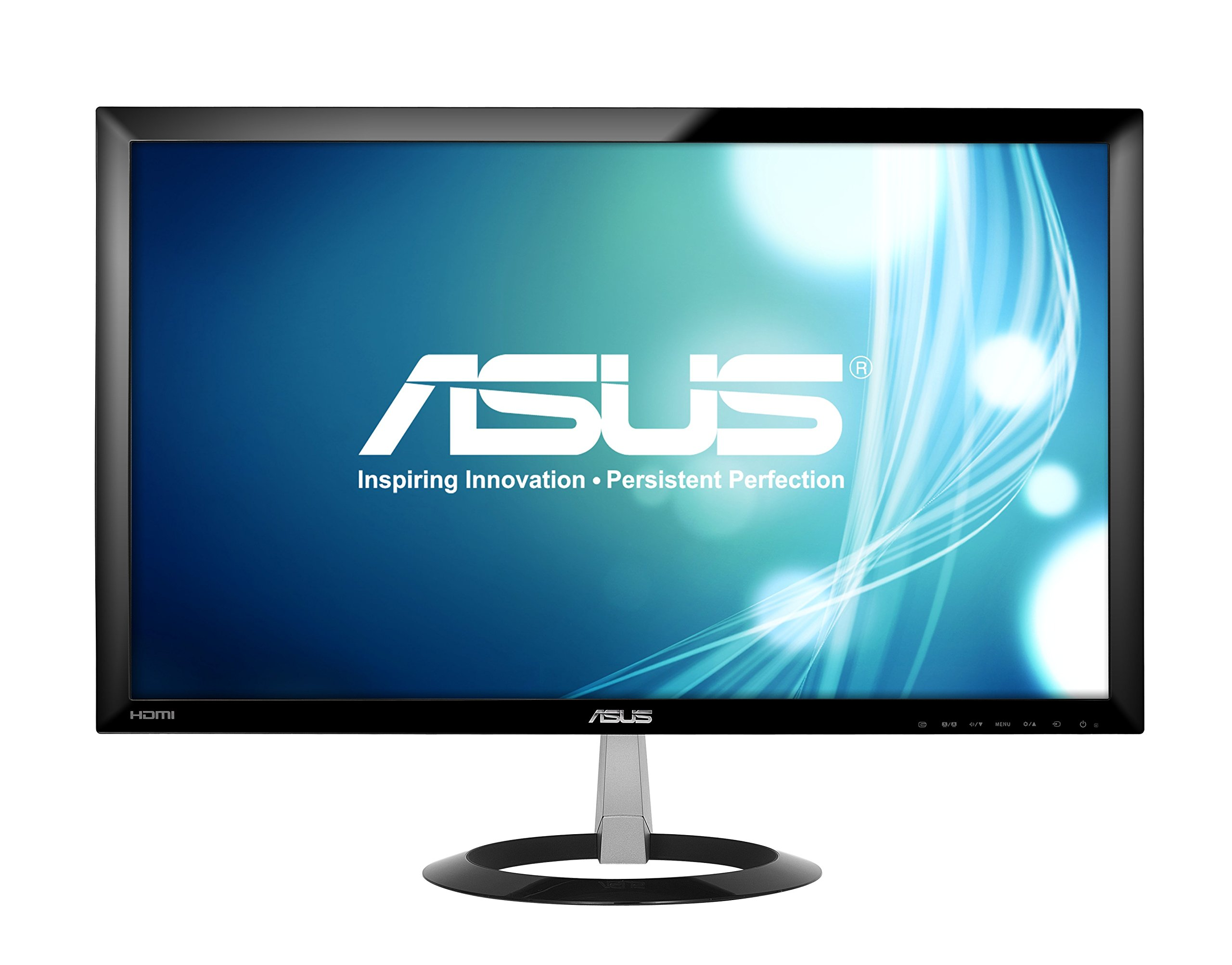 ASUS 23-inch Full HD Wide-Screen Gaming Monitor [VX238H] 1080p, 1ms Rapid Response Time, Dual HDMI, Built in Speakers, Low Blue Light, Flicker Free, ASUS EyeCare by Asus