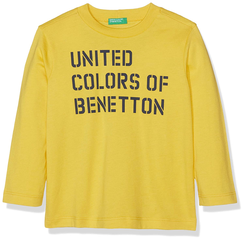 United Colors of Benetton T-Shirt L//S Camiseta de Tirantes para Ni/ños