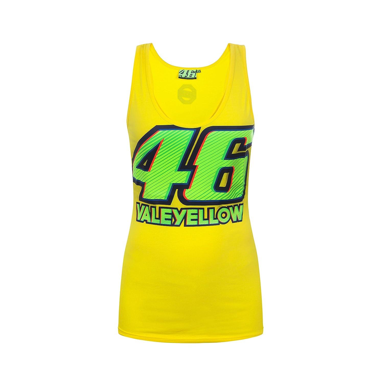 人気定番の Valentino Rossi VR46 Rossi Moto Women's GP Women's Yellow VR46 Tank Top Official 2017 XL 43cm Chest B06XKQJF77, 発明アイデア流通機構 バンビ:483be5d1 --- arianechie.dominiotemporario.com