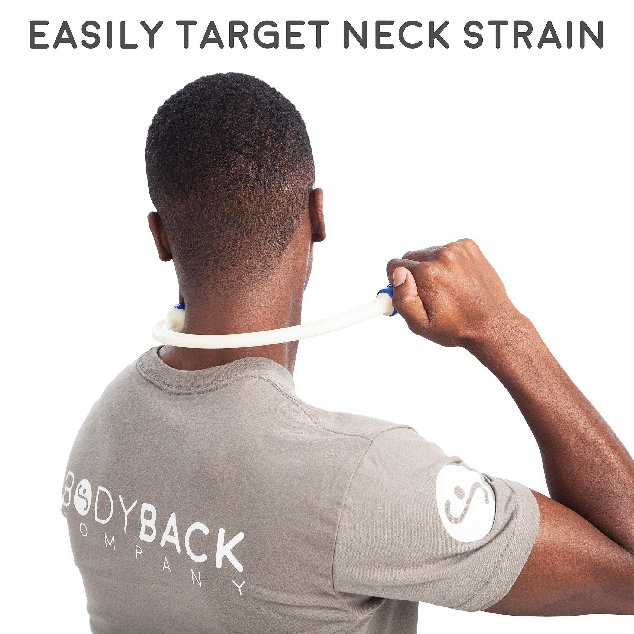 Body Back Buddy (Blue) + Buddy Mini Bundle, Fully Body Massage & Stress Relief Tools by Body Back