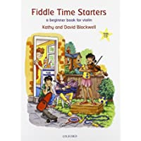 A Beginner Book for Violin: Fiddle Time Starters + CD