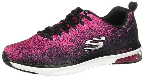 30e17e44520 Women's Skechers, Skech Air Infinity Modern Chic Running Shoe BLACK 6.5 M