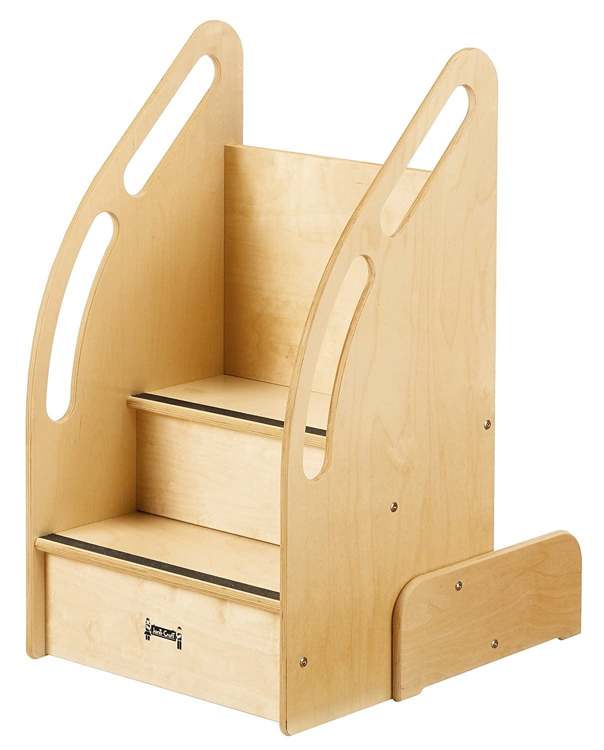 Etonnant This One Of A Kind Step Stool Features Rails With Cut Out Hand Holds On  Both Sides For Easy Climbing, Smoothed Edges, And A Lifetime Warranty.
