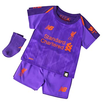 New Balance Liverpool 2018 19 Kids Baby Toddler Away Football Kit ... 31e93b696
