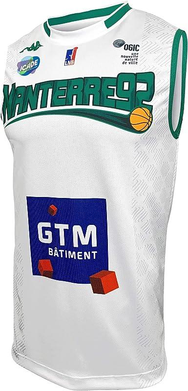 Nanterre 92 Nanterre Maillot Officiel Domicile 2019-2020 Enfant Maillot de Basketball