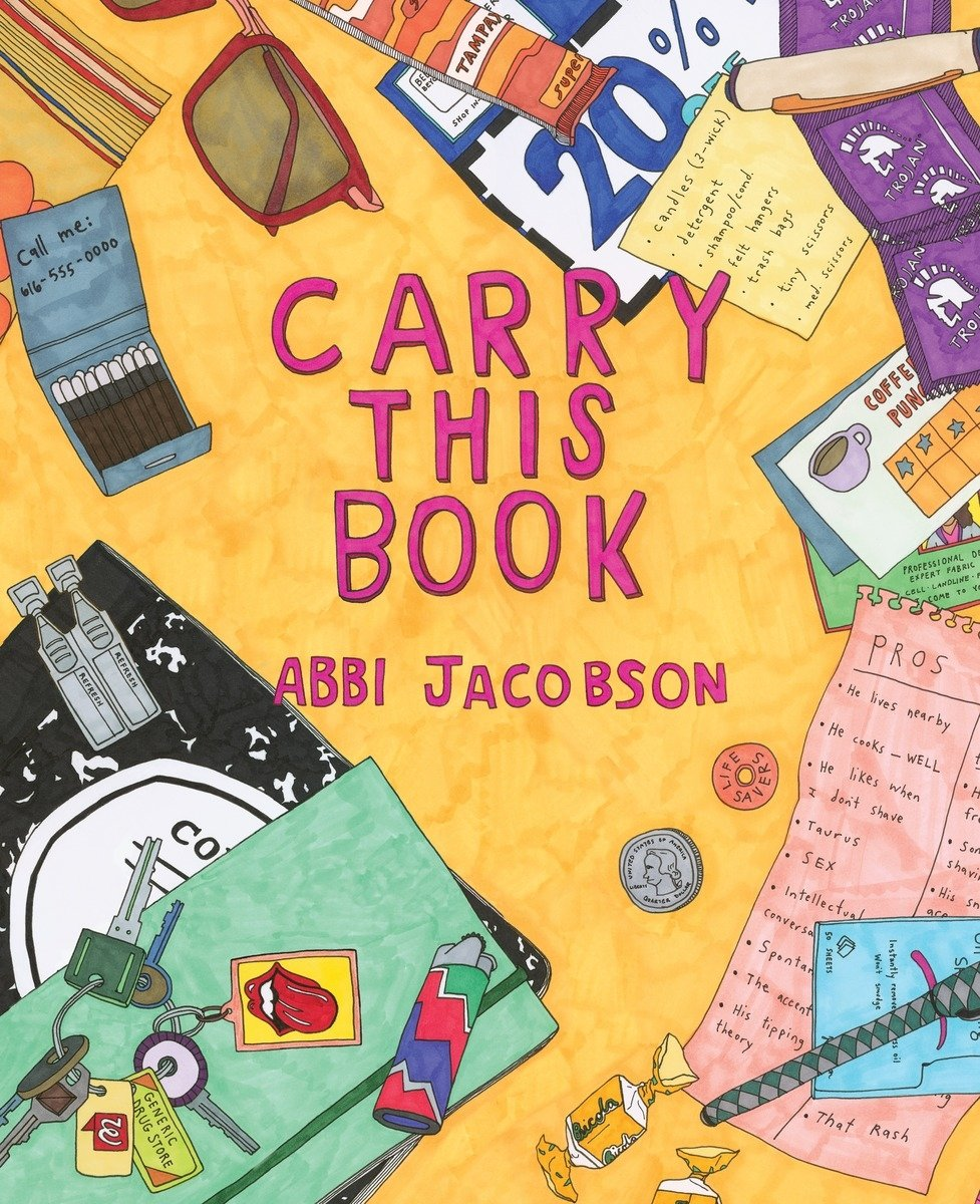 Carry This Book Abbi Jacobson product image