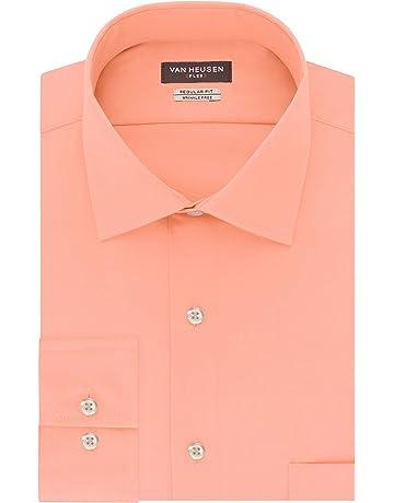 b7e4eaf0d8b38 Van Heusen Men s Dress Shirt Regular Fit Flex Collar Solid