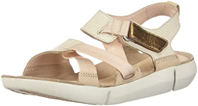 d7b3eeb35ae4 CLARKS New Women s Tri Clover Sandal Sand Combo 6