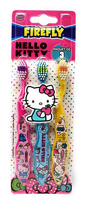 Firefly Hello Kitty Toothbrushes (3)