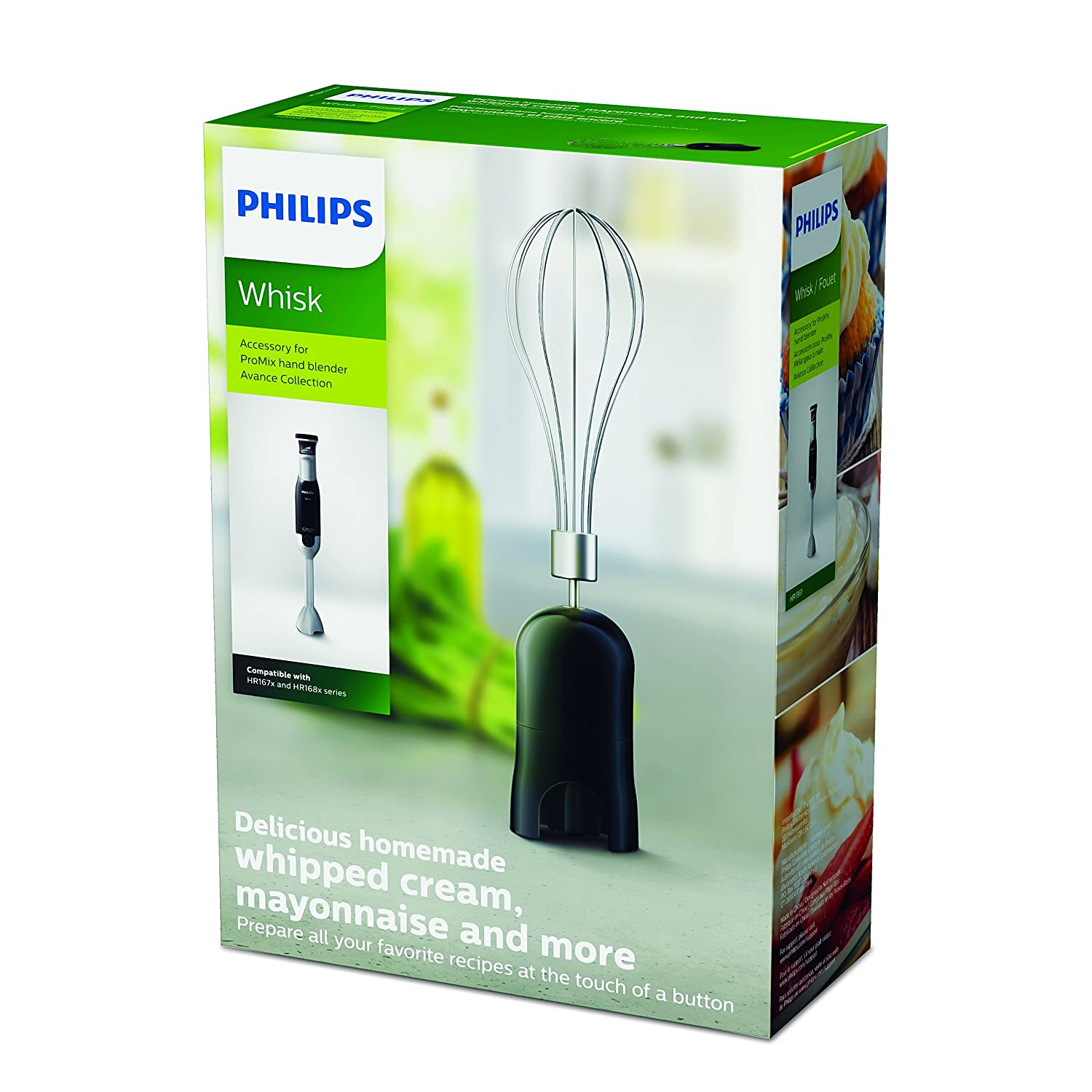 Philips Chopper Accessory for Promix Hand Blender Avance Collection HR1966//92