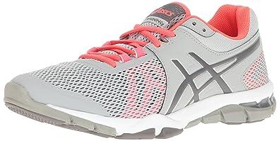 ASICS Women's Gel-Craze TR 4 Cross-Trainer Shoe, Mid Grey/Carbon/Diva Pink, 6.5 M US