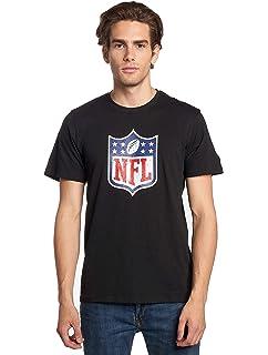 f73aefe99 New Era NFL Shield Grey Collection NFL T-Shirt  Amazon.co.uk  Clothing