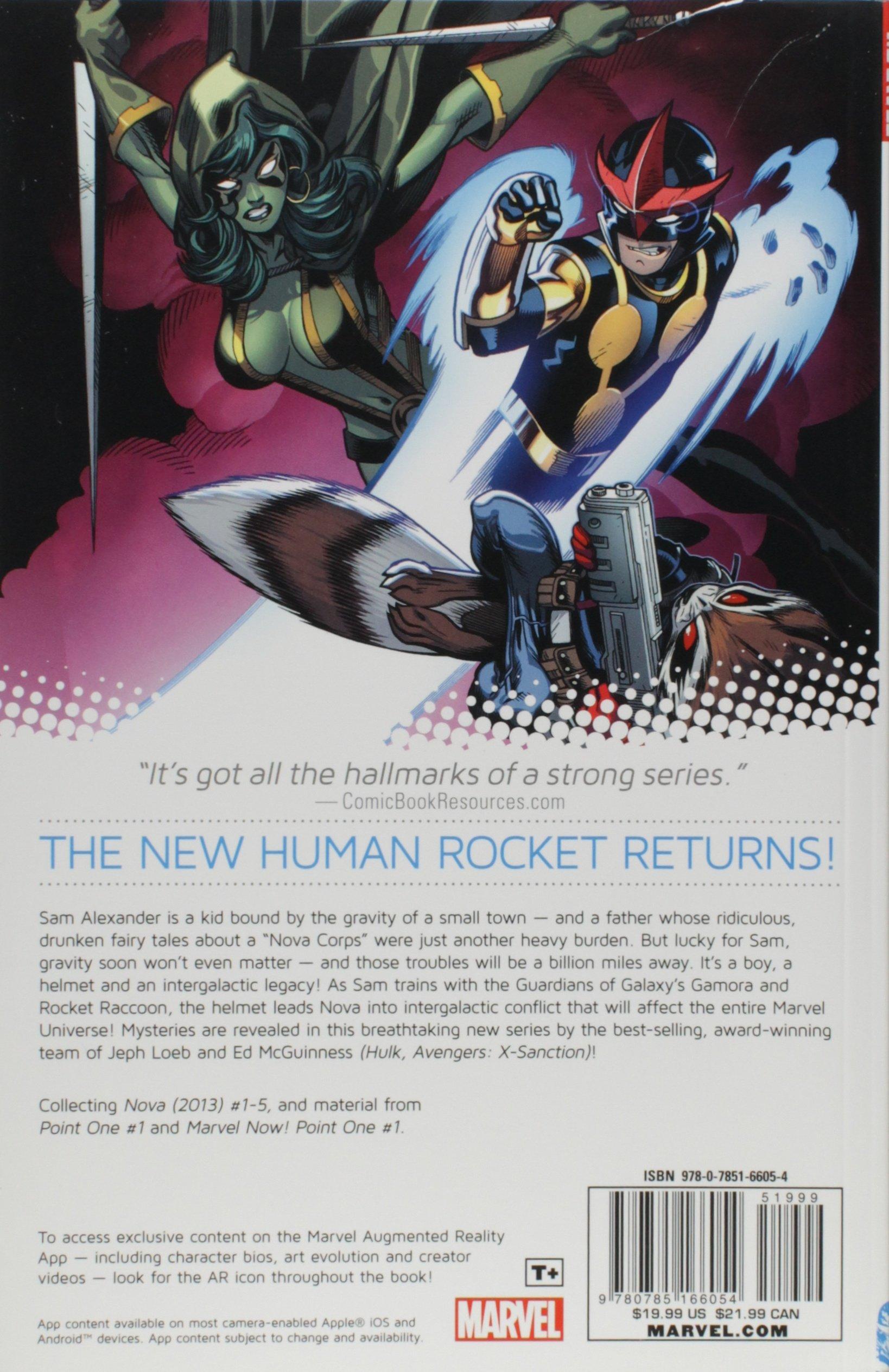 Nova Volume 1: Origin (Marvel Now): Amazon de: Jeph Loeb, Ed