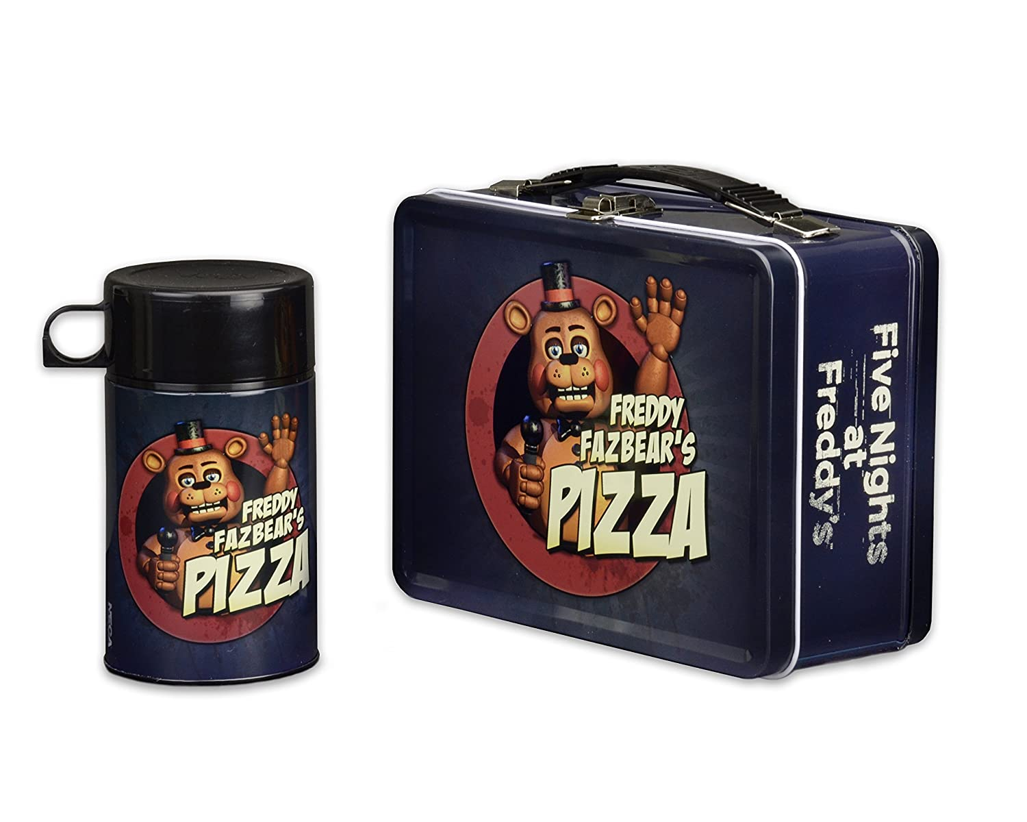 NECA Five Nights at Freddy/'s Lunchbox with Drink Container 45223