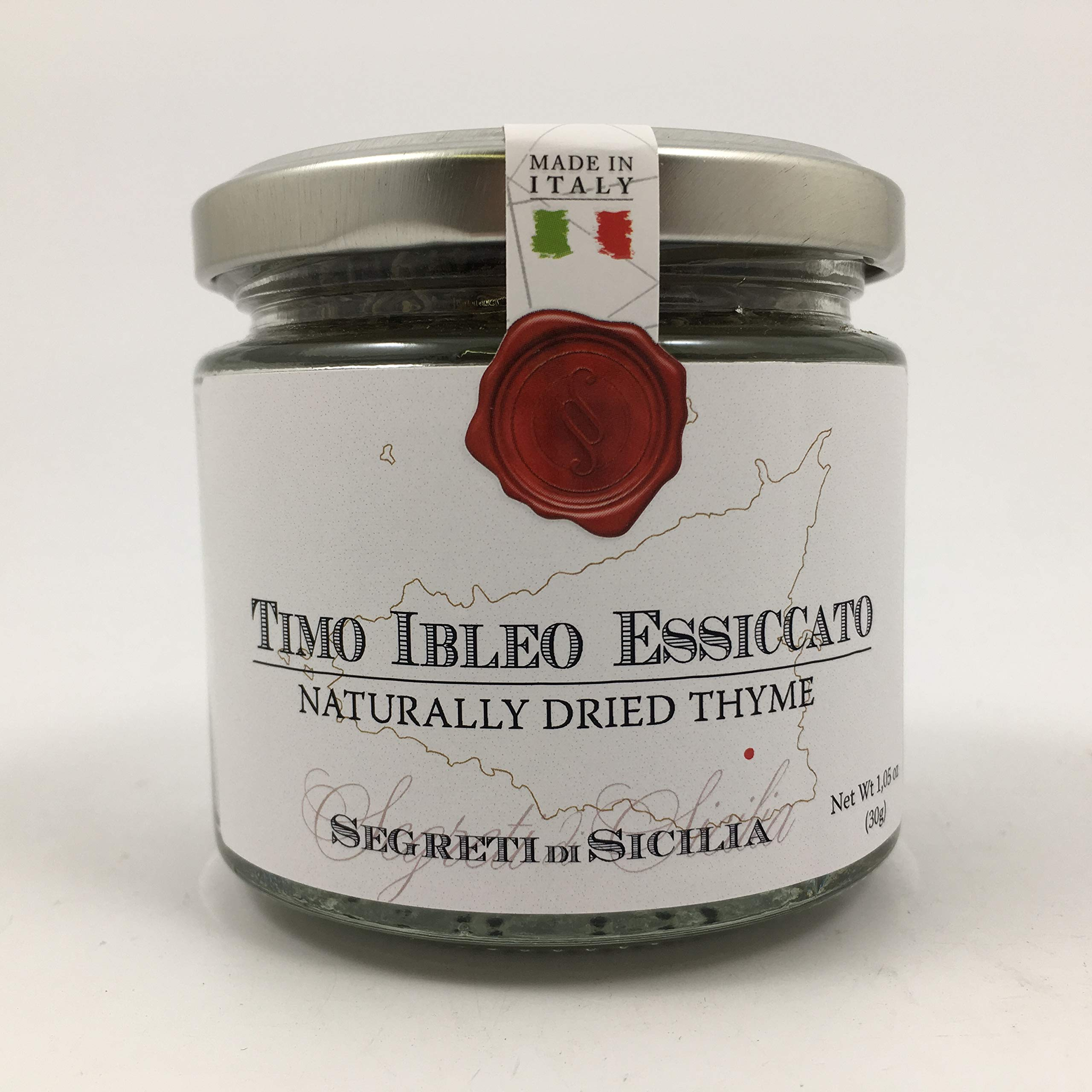 Naturally Dried Thyme From Sicily