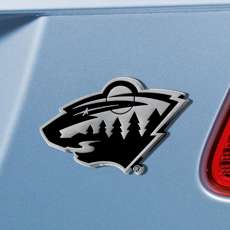 FANMATS 17175 Team Color 3x3.2 NHL Minnesota Wild Emblem