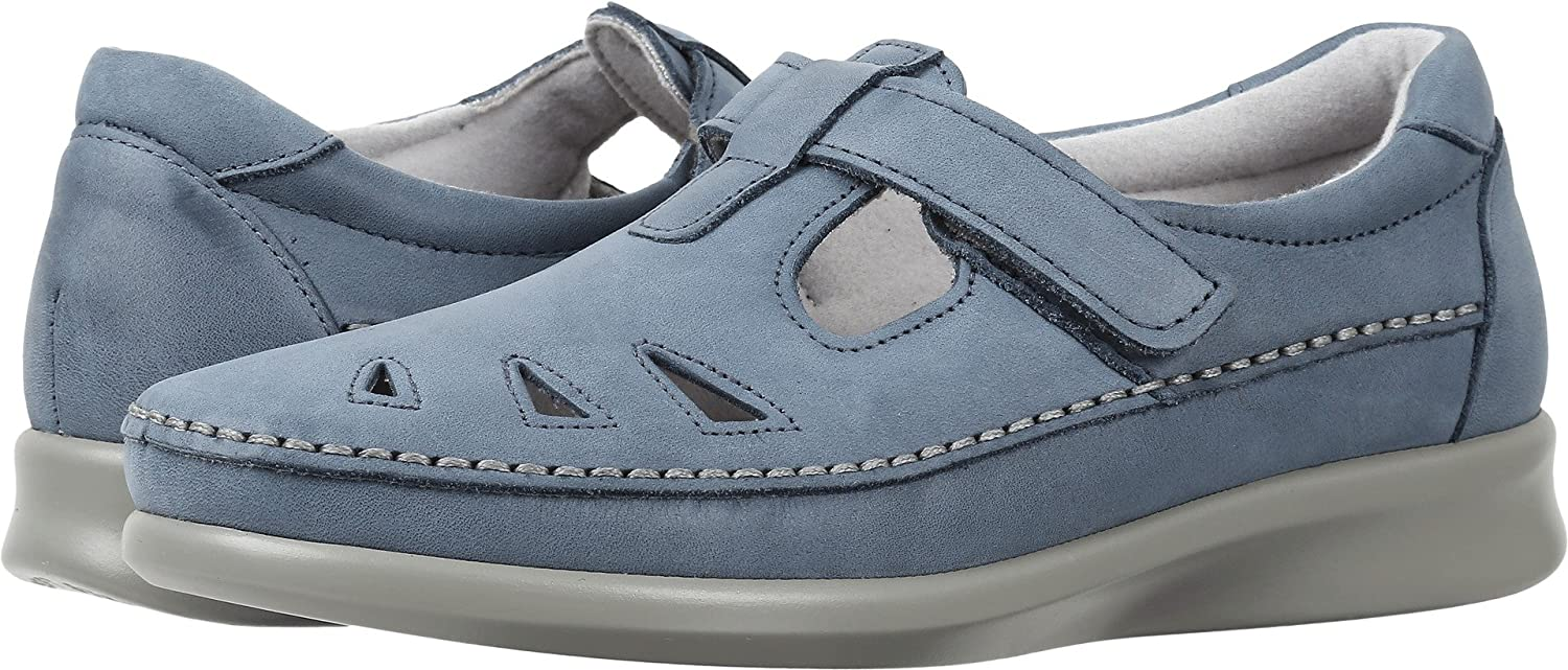 SAS Women's Roamer Slip-on B01MG1LU14 9.5 N - Narrow (AA) US|Denim