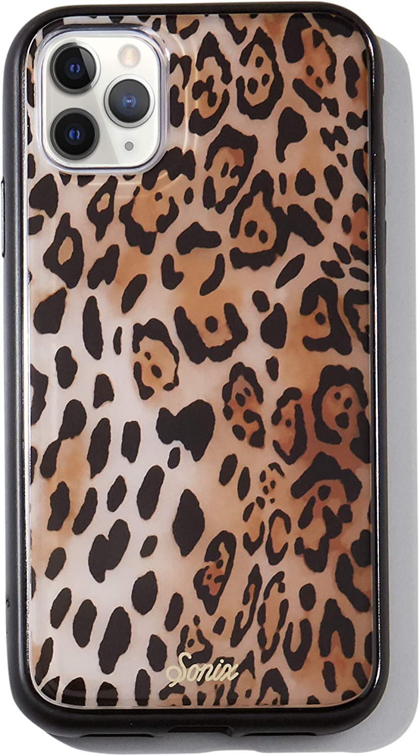 Sonix Watercolor Leopard Case for iPhone 11 Pro Max [10ft Drop Tested] Protective Animal Print Case for Apple iPhone 11 Pro Max