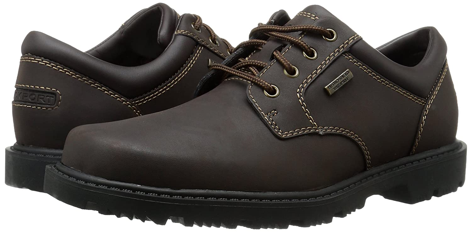 Amazon.com | Rockport Men's Redemption Road Waterproof Plain Toe Shoe |  Oxfords