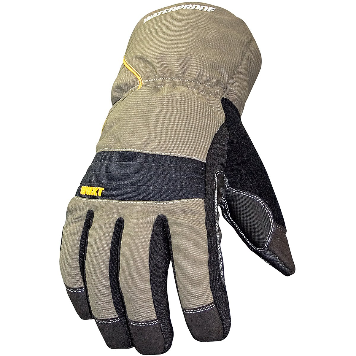 Youngstown Glove 11-3460-60-M Waterproof Winter XT 200 gram Thinsulate Waterproof Glove, Olive and Black, Medium by Youngstown Glove Company