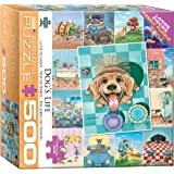 EURHR Backyard Fun Dog by Gary Patterson 300Piece Puzzle 300Piece Jigsaw Puzzle Eurographics - Toys 8300-5367 EuroGraphics