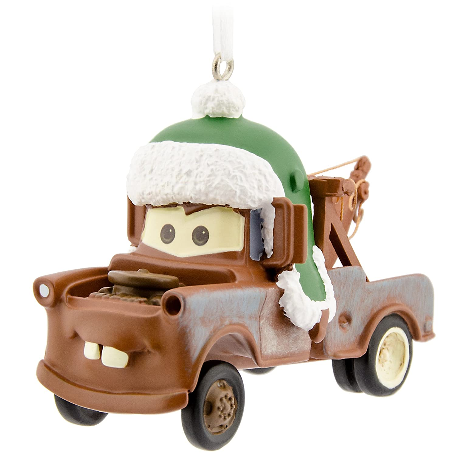 Amazon.com: Hallmark Disney/Pixar Cars Tow Mater Christmas Ornament ...