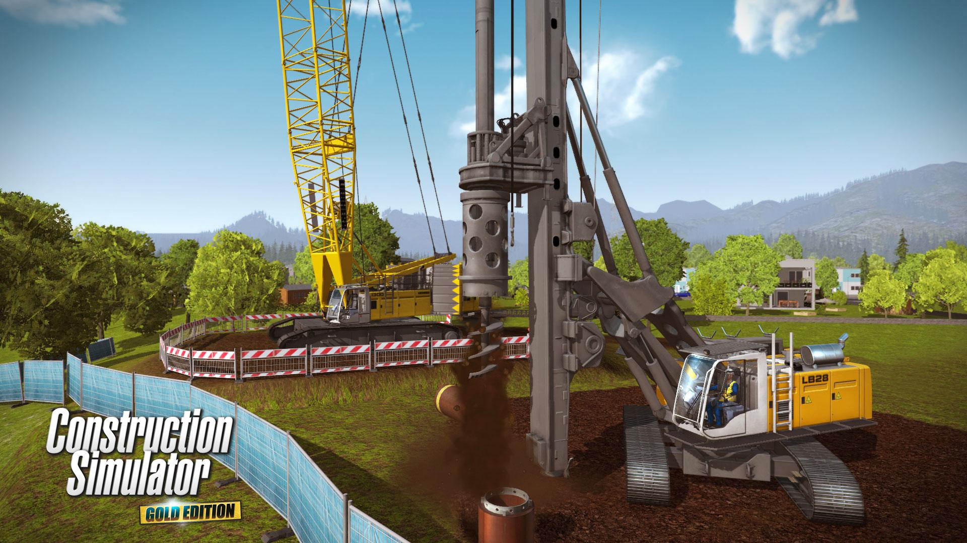 Construction Simulator: Gold-Edition [PC Code - Steam