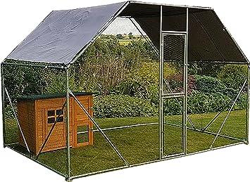 2 M x 3 m Walk In Caseta Pen Run exterior übung Cage - Cage 04 de - Oferta Especial - Descuento.: Amazon.es: Productos para mascotas