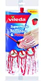 Vileda SuperMocio Microfibre & Power Mocio, Fibra, Multicolore, 7x14x40 cm