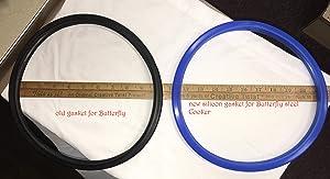Butterfly cooker gasket for Stainless Steel BlueLine for 7.5-10 liter - senior 4.5 liter