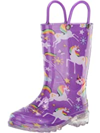 Western Chief Kid's Light-Up Rain Boot Rain Boots