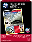 HP Paper, Premium Choice Laserjet, 32lb, 8.5x11, Letter, 100 Bright, 250 Sheets / 1 Ream, Made In The USA
