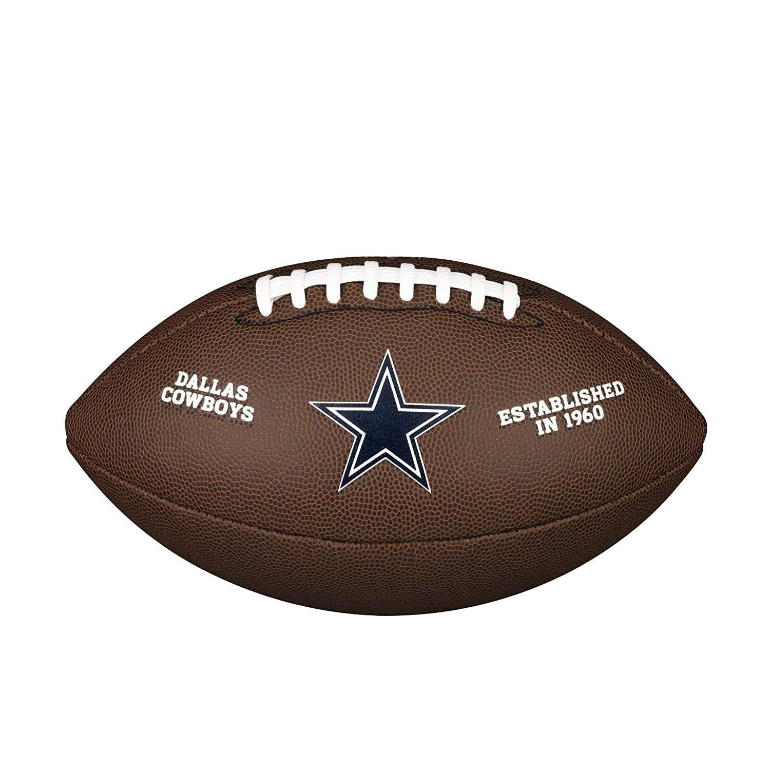 Wilson Dallas Cowboys Logo Official Football WTF1748DAL