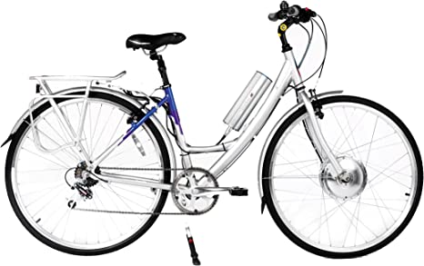 Powabyke XL615 - Bicicleta eléctrica, Talla S (155-165cm), Color ...