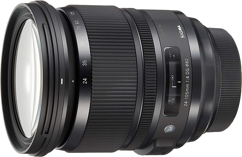 Amazon.com : Sigma 24-105mm F4.0 Art DG HSM Lens for Sony A- Mount ...