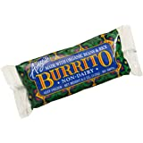 Amy's Bean & Rice Burrito, Dairy-Free, Organic, 6-Ounce Boxes (Pack of 12)