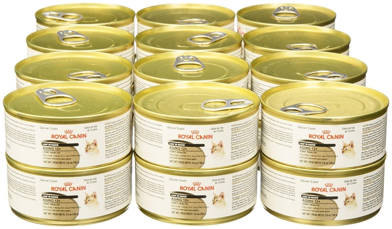 Amazon.com : Royal Canin Feline Health Nutrition Loaf in Sauce - Aging 12+ - Pork - 5.8 Ounce - 24 Count : Pet Supplies