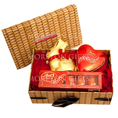 Lindt love easter chocolate hamper box gold bunny lindt heart lindt love easter chocolate hamper box gold bunny lindt heart tin lindor eggs negle Images